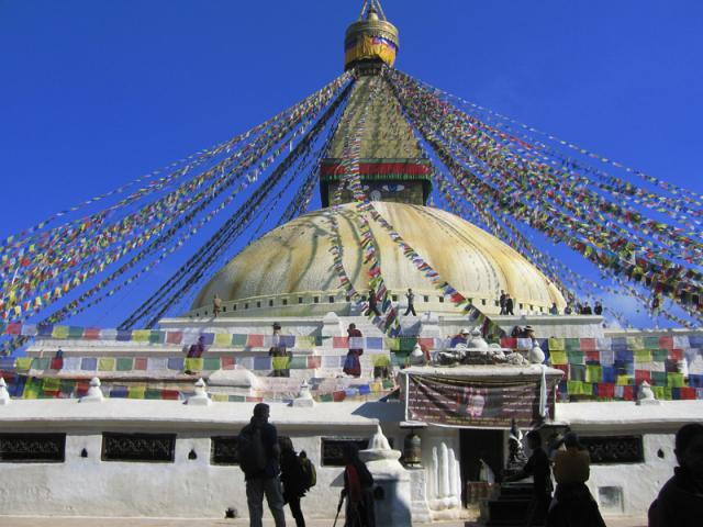 Nepál,Kathmandu-stupa