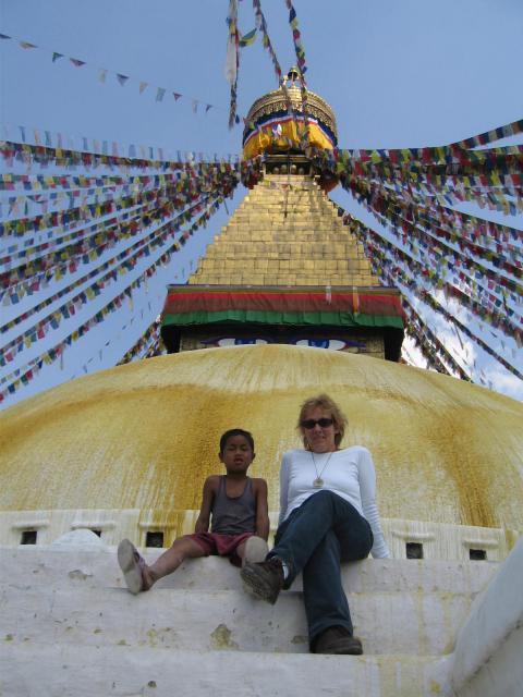 Stupa Kathmanduban
